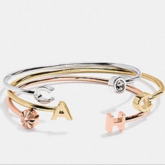 2fe0bc888 Coach Jewelry | Bracelet Set Of 3 | Poshmark